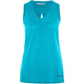 VAUDE Skomer Mouwloos Shirt Dames blauw